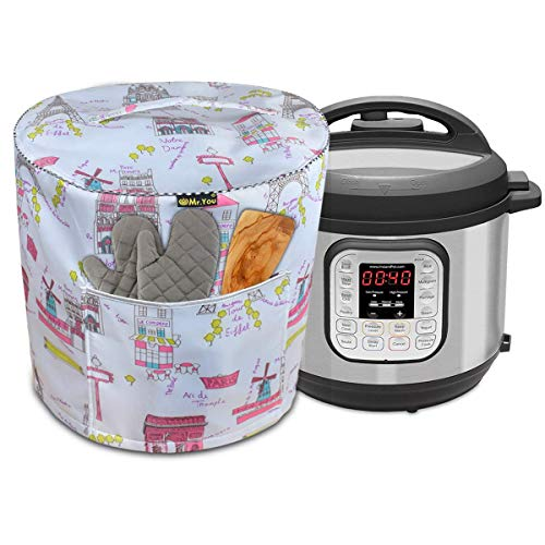 Housse pour cuiseur à riz, autocuiseur et autocuiseur électrique, avec poche (Paris)