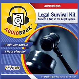 Legal Survival Kit audiobook cover art