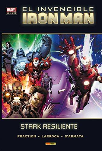 El Invencible Iron Man 4. Stark Resiliente (MARVEL DELUXE)