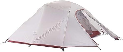 BUYGLI Tente Tente de Camping Ultra-légère Tente de Famille Tente de randonnée en Plein air pour 3 Personnes