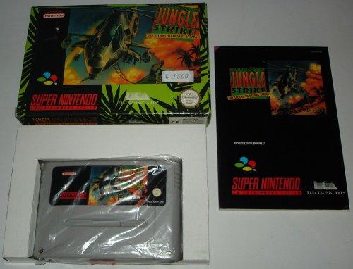 Jungle Strike - The Sequel to Desert Strike (SNES) gebr.