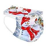 Schneemann Weihnachtsmasken