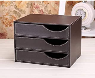 تنظيم المكتب والتخزين، خزانة الملفات الخشبية بثلاث طبقات، خزانة الملفات المكتبية، لوازم المكتب ، صندوق فرز البيانات (اللون...