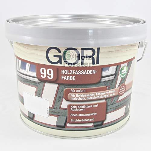 GORI 99 Holz- und Fassadenfarbe Sonderfarbton RAL 7016 Anthrazit, 2,25 Liter