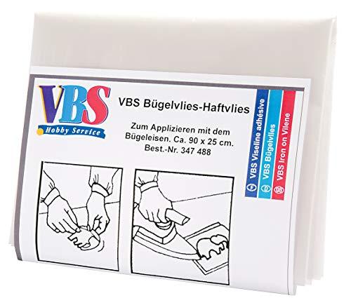 VBS Bügelvlies-Haftvlies, ca. 90 x 25 cm