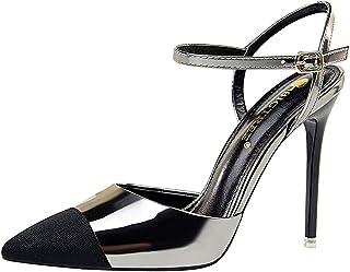 Moquite Donna 2019 Nuovo Sexy Moda Scarpe col Tacco,11cm Tacco a Spillo Sandali,Primavera ed Estate Femminile con Tacchi A...