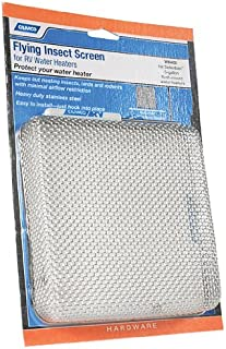 """Camco 42151 Flying Insect Water Heater Screen - WH 400,6.75"""" X 6.75"""" X 1.3"""""""