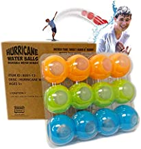 Prime Time Toys 12-Pack Hurricane Reusable Water Balls - Reusable Water Bombs/ Balloons
