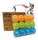 Prime Time Toys 12-Pack Hurricane Reusable Water Balls - Reusable Water Bombs/ Balloons