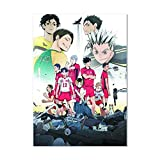 dili-bala Haikyuu !! - Anime Poster Sport Volleyball Scroll