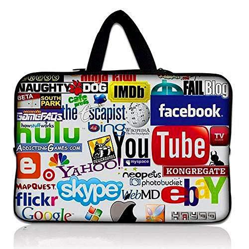 Yinghao 10 11 12 13 14 15 17 Laptop-Tasche Netbook-Schutzhülle mit Neoprenhülle Für ASUS Dell HP MacBook 13 3 15 6 11 6-Zoll-Computer-cy3261_10 Zoll