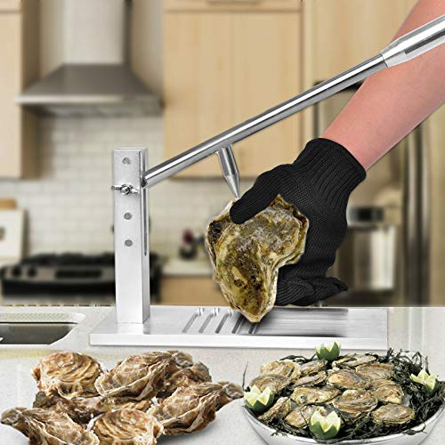 Oyster Shucker Machine,Oyster Shucker Tool Set, Clam Oyster Opener...