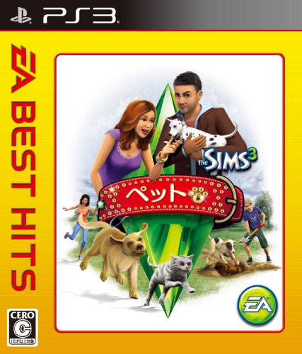 EA BEST HITS The Sims 3 Pets (japan import)