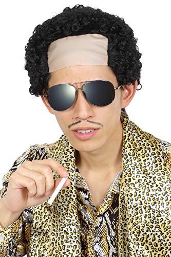 『Party City カツランド バラエティグッズ おかんのパーマ ユニセックス 黒』の5枚目の画像