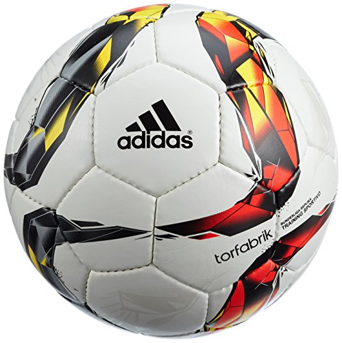 adidas Herren Fußball Torfabrik Junior 350, white/solar red/black/solar orange/solar gold/silver met, 5, S90214