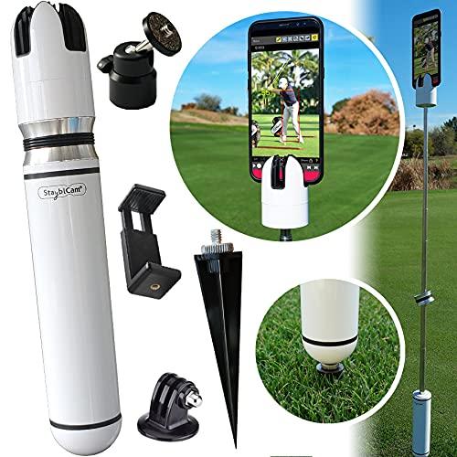 StayblCam Golf Swing Analyzer, Recording Holder, and Stabilizer Kit