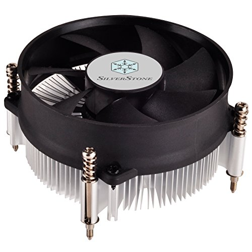 SilverStone SST-NT09-115X - Dissipatore Nitrogon per CPU, Low Profile, quiet 80mm PWM, Intel