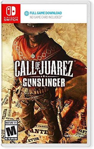 Call of Juarez: Gunslinger - Nintendo Switch (Game Download Code in Box)
