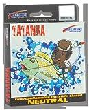 Tubertini Tatanka 150m Schnur - monofile Angelschnur zum Forellenangeln & Friedfischangeln, Monoschnur, Durchmesser/Tragkraft:0.185mm / 5.20kg