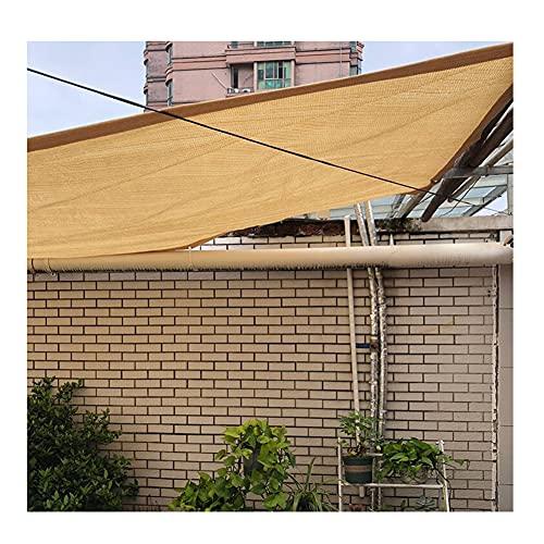 LIUNA Toldos De Sombreado para Jardín Proteccion Solar Patio Protector Solar Invernadero Malla De Sombra Pérgola Plantas ,Sun Shade Sail Garden White Impermeable UV Sun Pantalla Pro(Size:3X3M,Color:A)