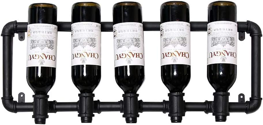Zfusshop wine Max 57% OFF racks Wall Wine Max 42% OFF She Rack Metal Bottle Hanging