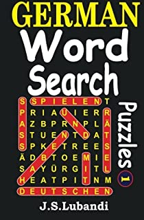 German Word Search Puzzles (Volume 1) (German Edition)