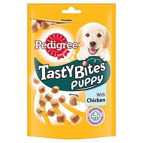 Pedigree Puppy Tasty Bites with Chicken 125g (PACK OF 2)