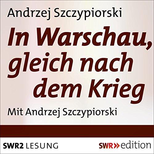 In Warschau, gleich nach dem Krieg Titelbild