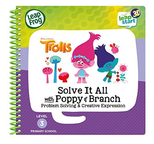 LeapFrog 460303 3D Activity Book Trolls Lernspielzeug, Mehrfarbig, Einheitsgröße