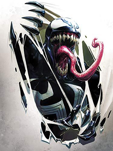 Marvel Comics Lienzo (imprimido, 60x 80cm)–Venom