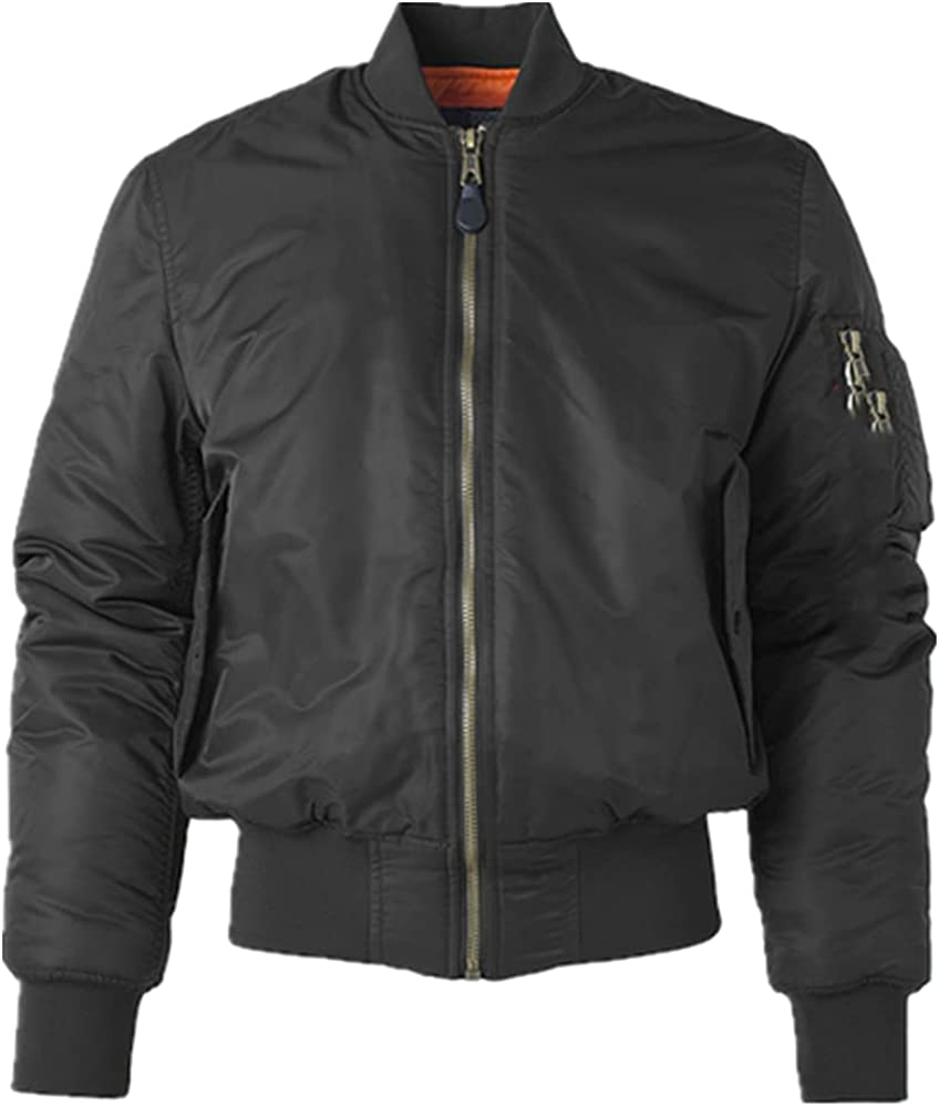 Male Cheap mail order specialty store famous Flight Bomber Varsity Pilot Air College Force
