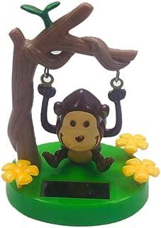 Solar Dancing Toys - Solar Powered Dancing Animal Swinging Animated Bobble Dancer Toy Car Decor Kids Toys Gift,Monkey