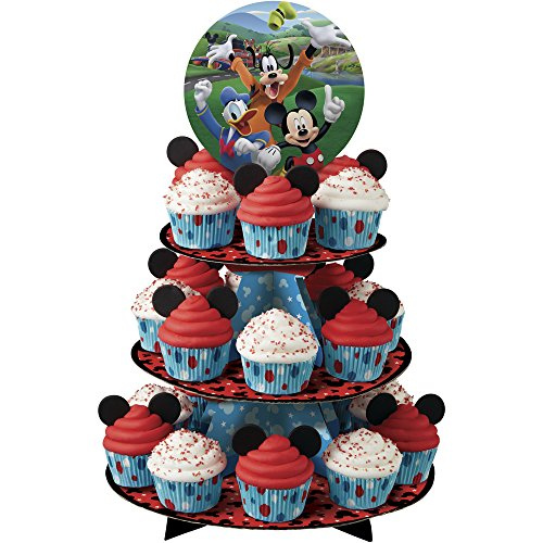 Wilton Mickey and The Roadster Racers Treat Stand, Assorted