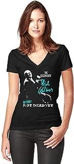 Phil Collins T-Shirt Not Dead Yet Live Tour 2019 Dates Women V-Neck T-Shirt
