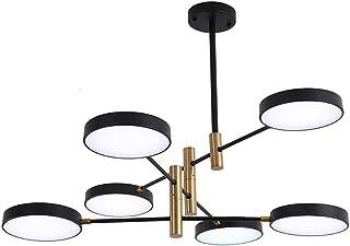 NZDY Sputnik Chandelier Lighting Modern Led Chandelier Dimmable Pendant Lighting Industrial Iron Ceiling Light Fixture for...