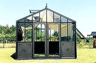 Exaco Trading Retro Royal Victorian VI 46 Greenhouse with Decorative Panels and Narrow Glass