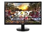 "Acer K242HQL bid 23.6"" Full HD (1920 x 1080) VA Monitor | 60Hz Refresh Rate | 5ms Response Time | for Work or Home (HDMI Port 1.4, DVI Port & VGA Port)"