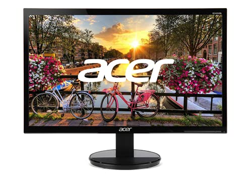 "Acer K242HQL bid 23.6"" Full HD (1920 x 1080) VA Monitor   60Hz Refresh Rate   5ms Response Time  ..."