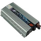Wenhu 1000W sur la Grille Cravate onduleur Solaire, 20-50V DC pour AC 80-260V Onduleur à Onde sinusoïdale Pure pour 1000-1200W 24V, 30V, 36V PV ou énergie éolienne,220to240v,10.5to30VDC