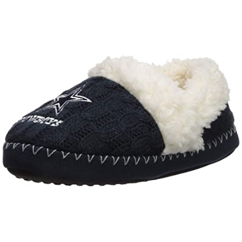Reasonable Womens Colorblock Fur Slide Slippers Forever Collectibles House Shoes Slippers Fan Apparel & Souvenirs