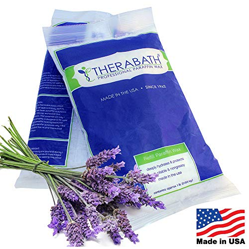 Therabath Paraffin Wax Refill - Use To Relieve Arthitis Pain and Stiff Muscles - Deeply Hydrates and Protects - 6...