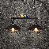AXWT Lámpara Colgante Creativa 2 Luces Mesa De...