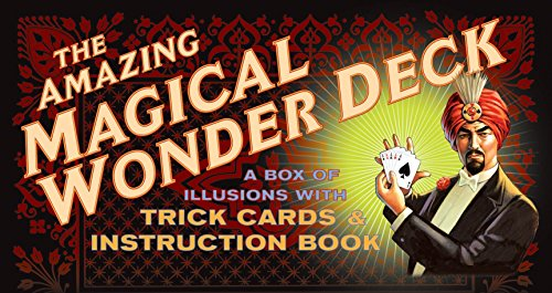 The Amazing Magical Wonder Deck: A Box of Illusions with Trick Cards & Instruction Book