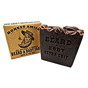 Honest Amish Beard and Body Soap (Extra Grit) 10