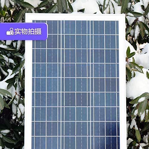 Panel Solar 100W Vatios De Paneles Solares Policristalinos Panel Solar 12V Fuente De Alimentación Doméstica Generación De Energía Fotovoltaica De La Placa Base MDYHJDHYQ
