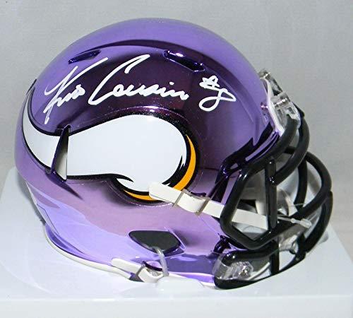 Signed Kirk Cousins Mini Helmet - Chrome - JSA Certified - Autographed NFL Mini Helmets