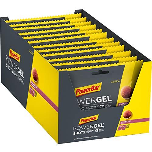 PowerBar PowerGel Shots Framboise 24x60g...