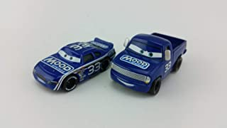 Disney Disney Pixar Cars No.33 Mood Springs Pickup & Car Metal Diecast Toy Car 1:55 Loose in Stock &