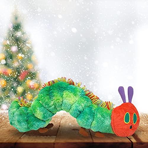 Miokycl Juguetes de Peluche, Juguetes de lujezas de 40 cm, Juguetes de Felpa, muñecas de Felpa de la Oruga Muy hambrienta, adecuados para el sofá/Silla/Respaldo/cojín de Asiento
