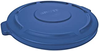 Rubbermaid Commercial FG263100BLUE Products Brute Trash Can Lid, 32 gal, Blue